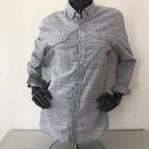 Vans button shirt